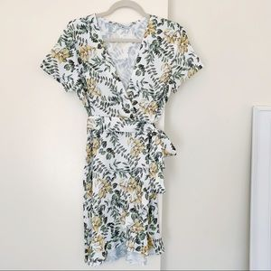 Amazon Floral Wrap Dress